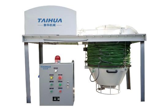 经泰华技术改造后的无尘卸料干灰散装机性能明显提高