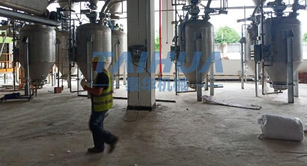 浓相热博rb88系统仓泵四川用户安装现场