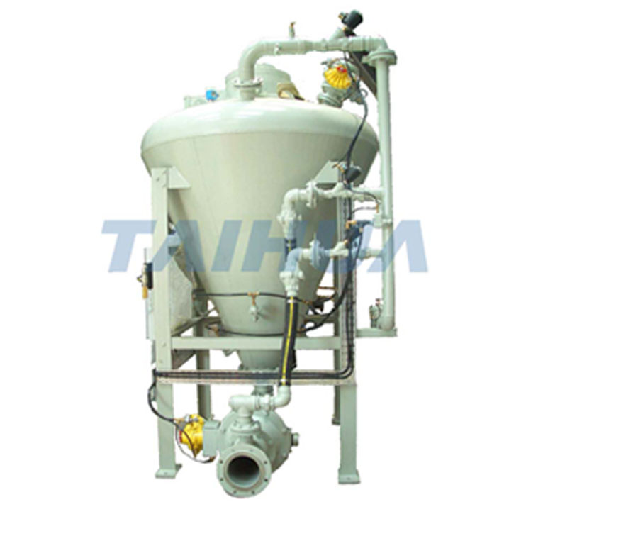 仓式热博rb88泵简称仓泵它的操作工作过程