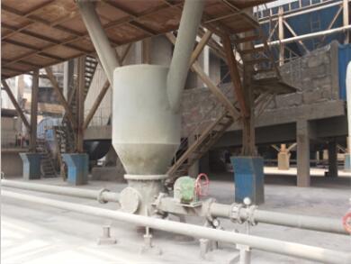 氧化铝粉输送系统